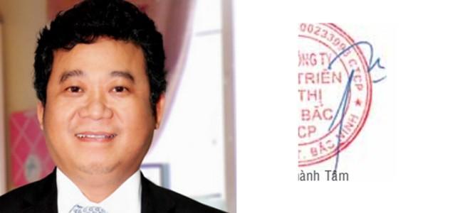 Ông Đặng Thành Tâm – Chủ tịch tập đoàn Kinh Bắc City & Saigon Invest Group