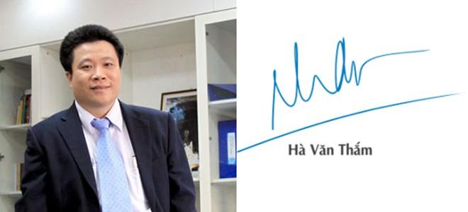 Ông Hà Văn Thắm – Chủ tịch Ocean Group, Ngân hàng Ocean Bank